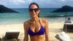Bethenny Frankel Hits the Beach