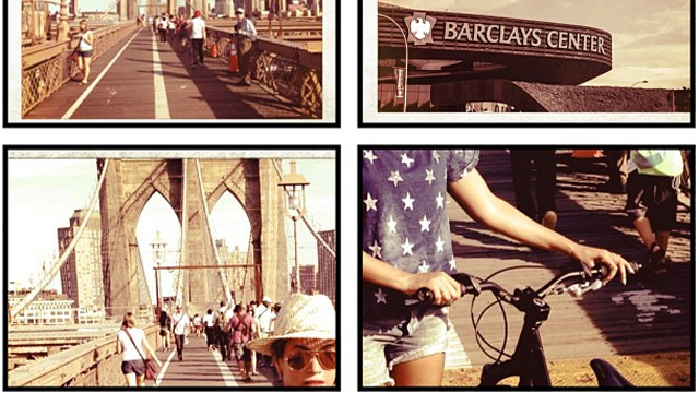 PHOTO: Beyonce biked to Barclay's for her show and posted proof on Instagram.