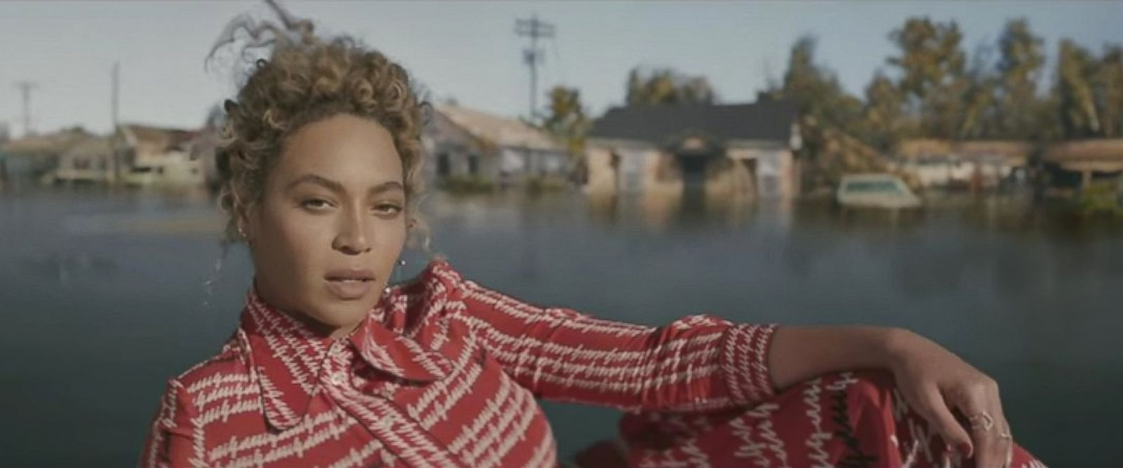 """PHOTO: Beyonce is pictured in a still from her new music video """"Formation."""""""