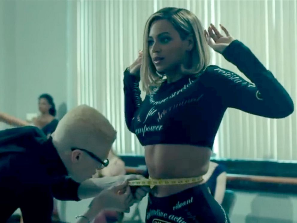 PHOTO: Beyonce in the music video for Pretty Hurts.