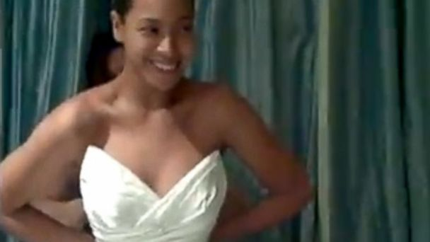 "PHOTO: In the video for her inspirational anthem ""I Was Here,"" Beyonce shared personal footage from her life, including her wedding dress."