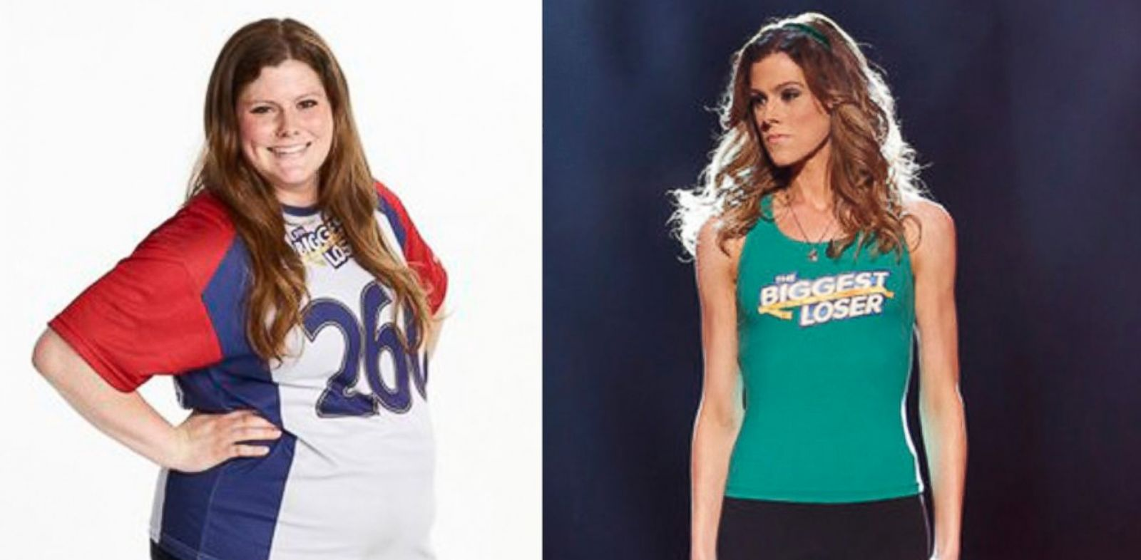 "PHOTO: Rachel Frederickson, ""The Biggest Loser"" is a big winner after dropping 155 pounds to now weight only 105!"