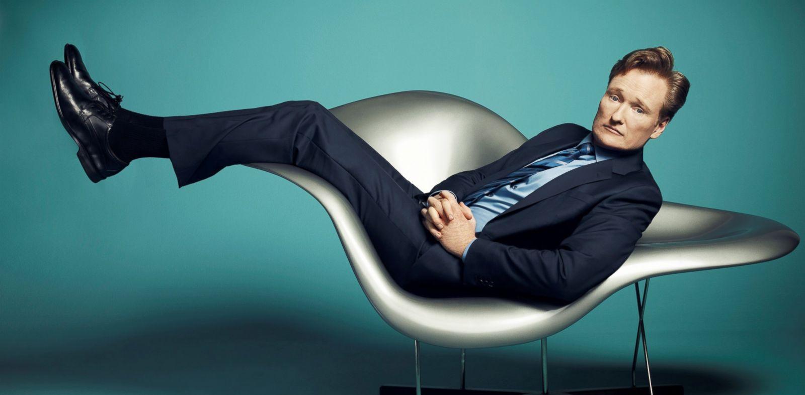 PHOTO: Conan OBrien, star of TBSs late-night series CONAN.