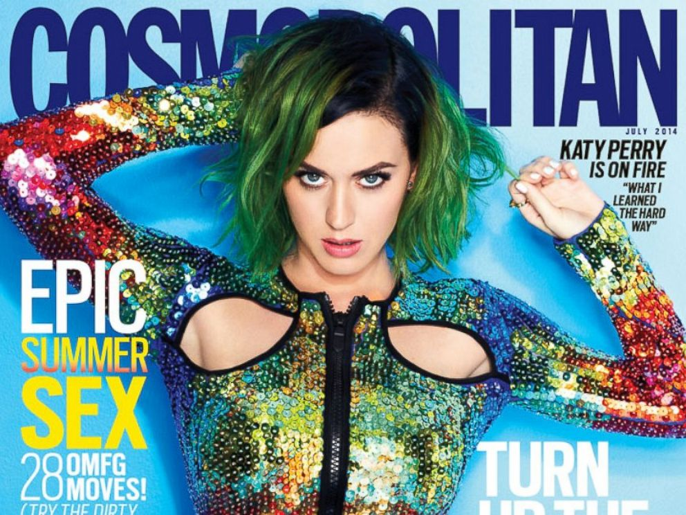 PHOTO: Katy Perry on the July 2014 cover of Cosmopolitan.
