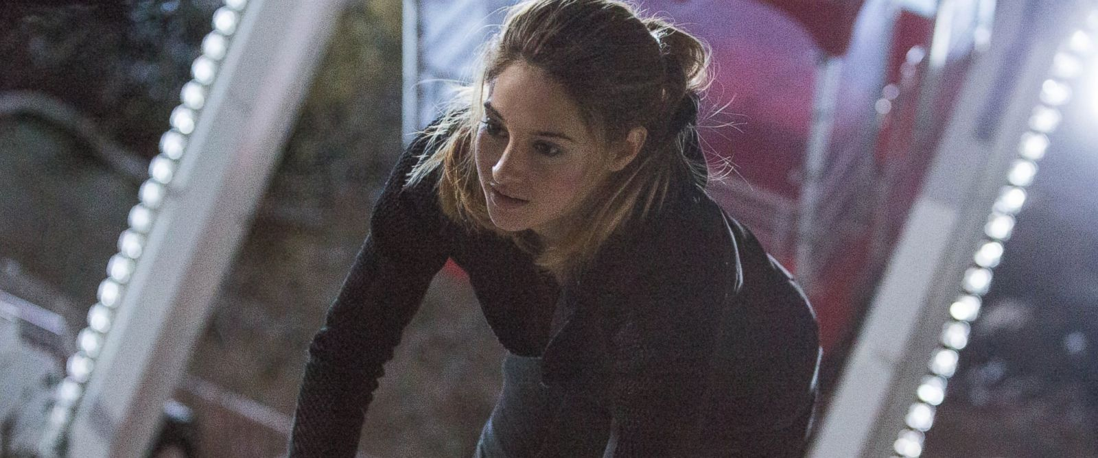"Shailene Woodley in a scene from ""Divergent."""