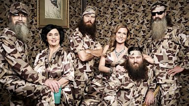 "PHOTO: The cast of ""Duck Dynasty."""