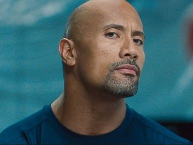 PHOTO: Dwayne Johnson as Luke Hobbs in a scene from the movie, Fast & Furious 6.