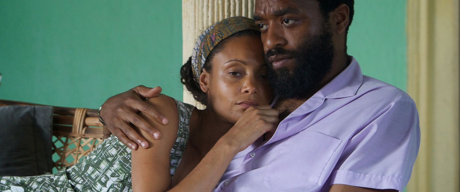 """PHOTO: Chiwetel Ejiofor in a film still from """"Half of a Yellow Sun."""""""
