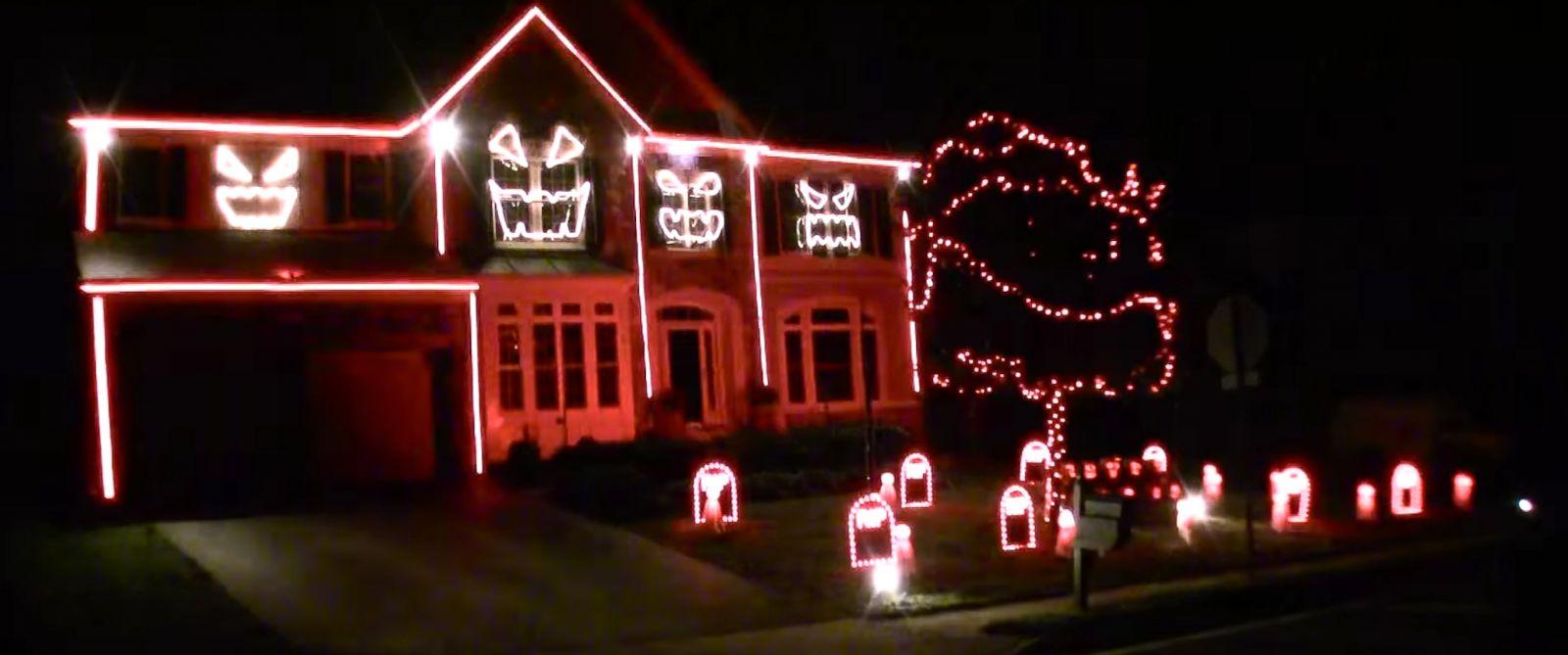 Macklemore Themed Light Show A Halloween Hit ABC News
