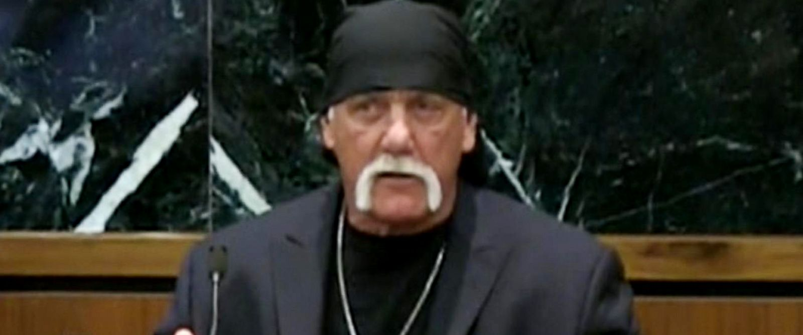 PHOTO: Terry Bollea, known as professional wrestler Hulk Hogan takes the stand at the Pinellas County Courthouse, in St. Petersburg, Fla., March 8, 2016.
