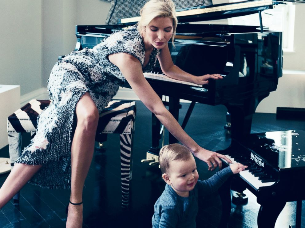 PHOTO: Ivanka Trump is seen in the VOGUE March issue.