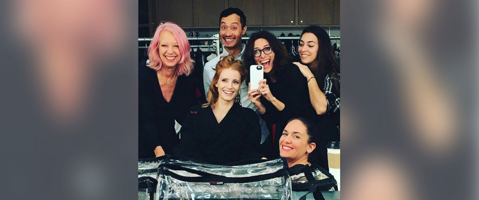 PHOTO: Jessica Chastain posted this photo to Instagram on Feb. 28, 2016.