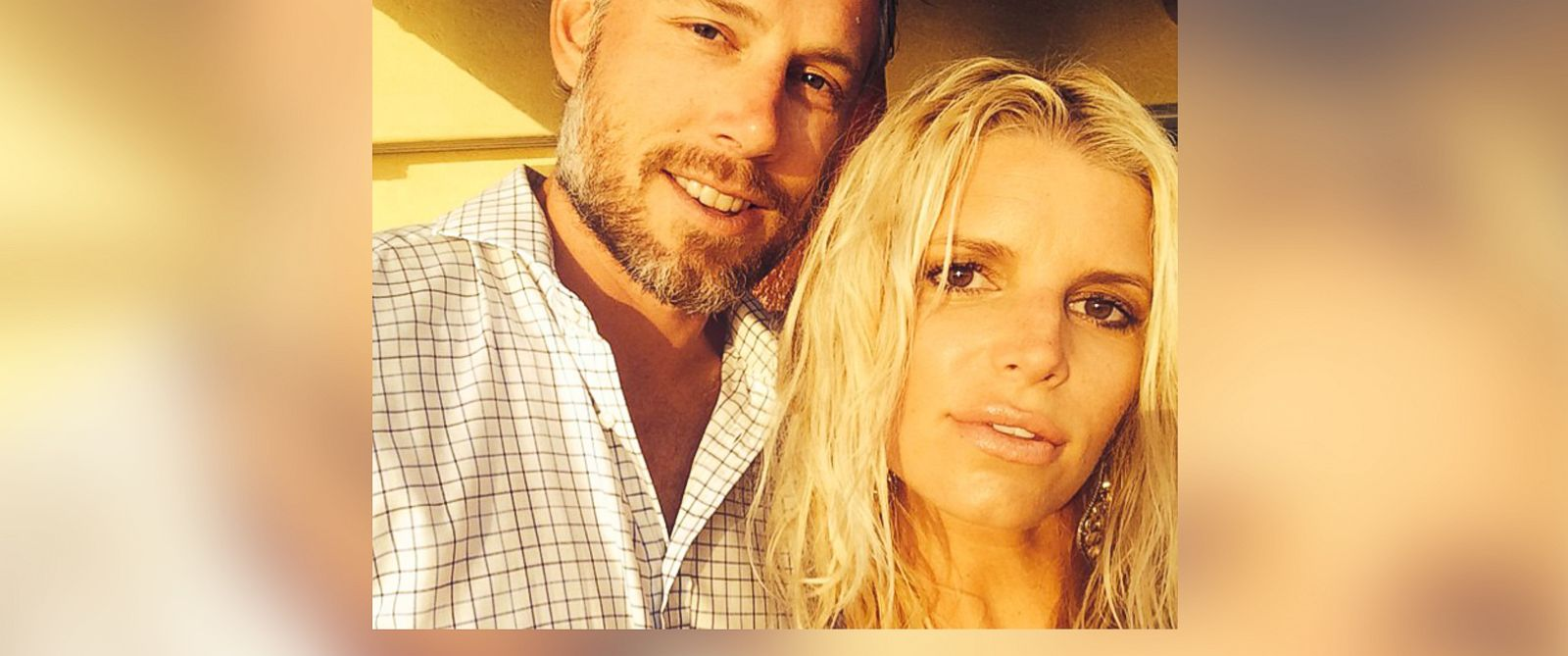 """PHOTO: Jessica Simpson posted this photo to Instagram, July 21, 2014, with the caption, """"I love this man, our marriage, and everything in between."""""""