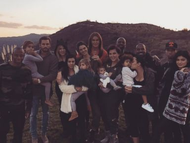 PHOTO: Kim Kardashian posted this photo on Instagram with this caption: THANKFUL, Nov. 26, 2015.