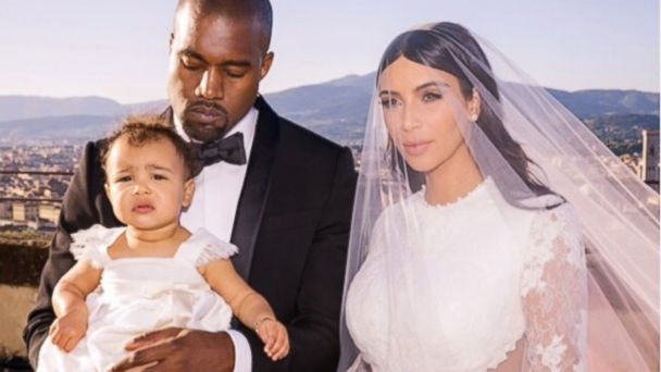 "PHOTO: Kim Kardashian posted this wedding photo to her Instagram, June 11, 2014, with the caption, ""My everything."""