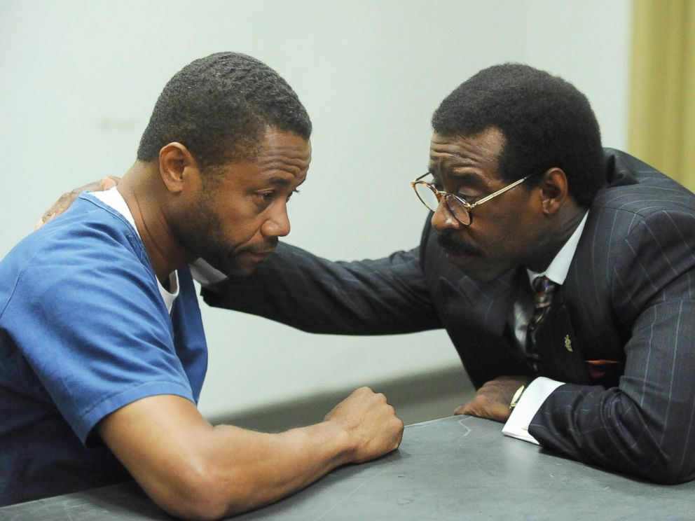 PHOTO:Cuba Gooding, Jr. as O.J. Simpson and Courtney B. Vance as Johnnie Cochran in a scene from the TV miniseries, The People v. O.J. Simpson: American Crime Story.