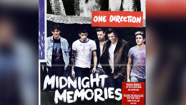 "PHOTO:One Direction's ""Midnight Memories"" album."