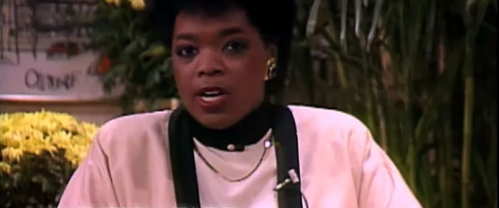 PHOTO: Oprah Winfrey is seen in her audition tape, circa 1983, in this video still.