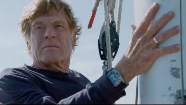 "Robert Redford stars in the film ""All is Lost."""