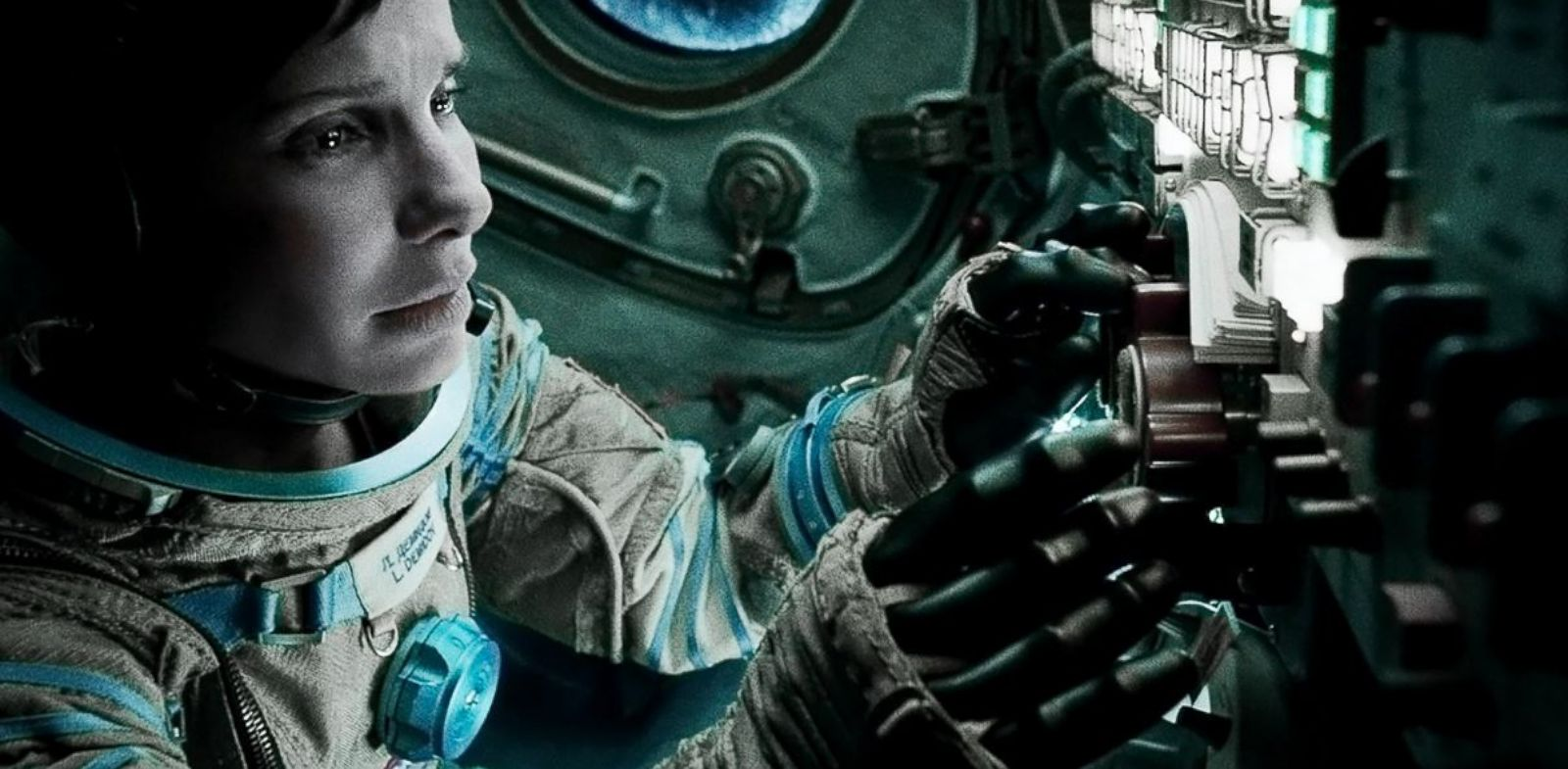 "PHOTO: Sandra Bullock stars in the film ""Gravity."""