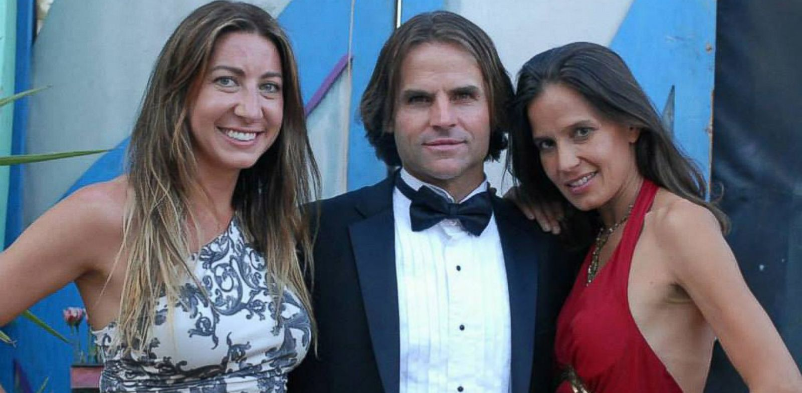 "PHOTO: Michael, 49, Kamala Devi, 38, and Rachel, 27, live whats called a ""polyamorous"" lifestyle together."