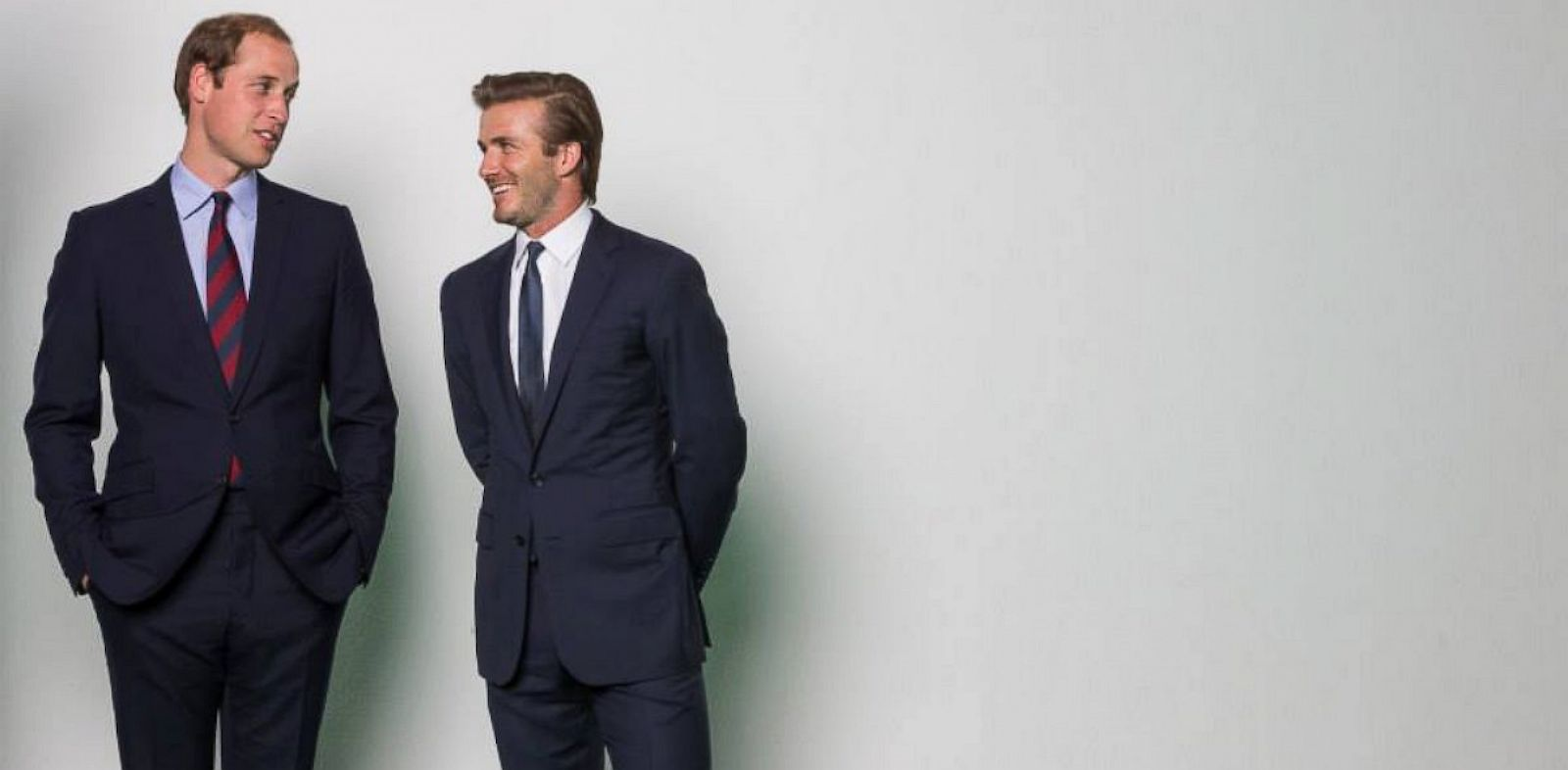 PHOTO: The Duke of Cambridge and David Beckham film a new WildAid PSA in London.