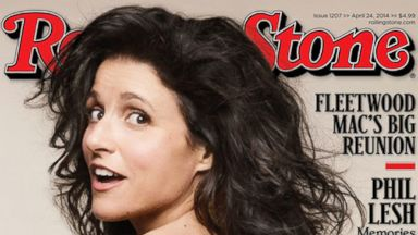 PHOTO: Julia Louis-Dreyfus poses on the May 2014 cover of Rolling Stone.