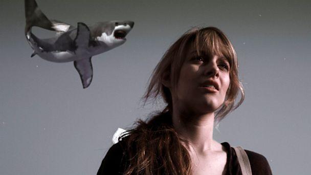 PHOTO: Aubrey Peeples as Claudia in Sharknado.