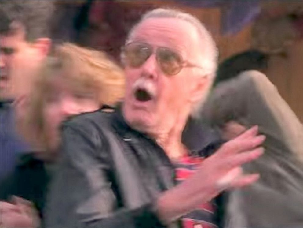PHOTO: Stan Lee in a cameo scene from Spiderman.
