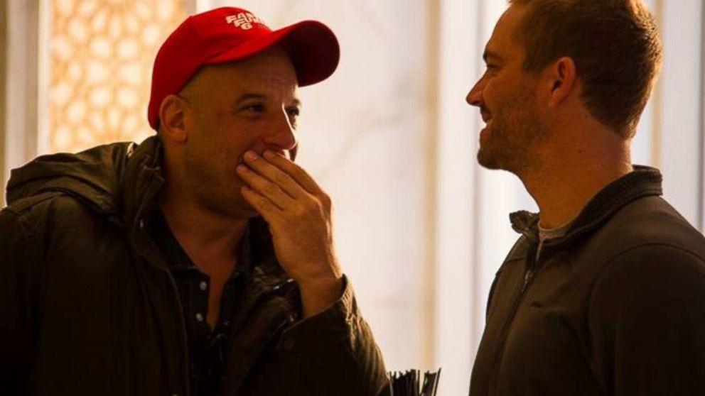 Vin Diesel Visits Paul...