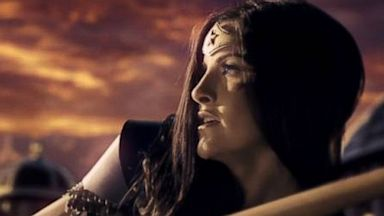 PHOTO: A short film by Rainfall Films features Wonder Woman