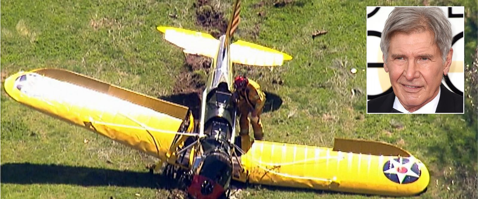 PHOTO: A single-engine plane crashed at the Penmar Golf Course near Santa Monica Municipal Airport, March 5, 2015.