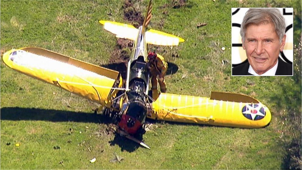 Harrison Ford S Airplanes : Harrison ford continues to heal following plane crash
