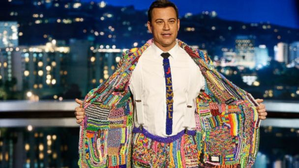 Jimmy Kimmel loom suit