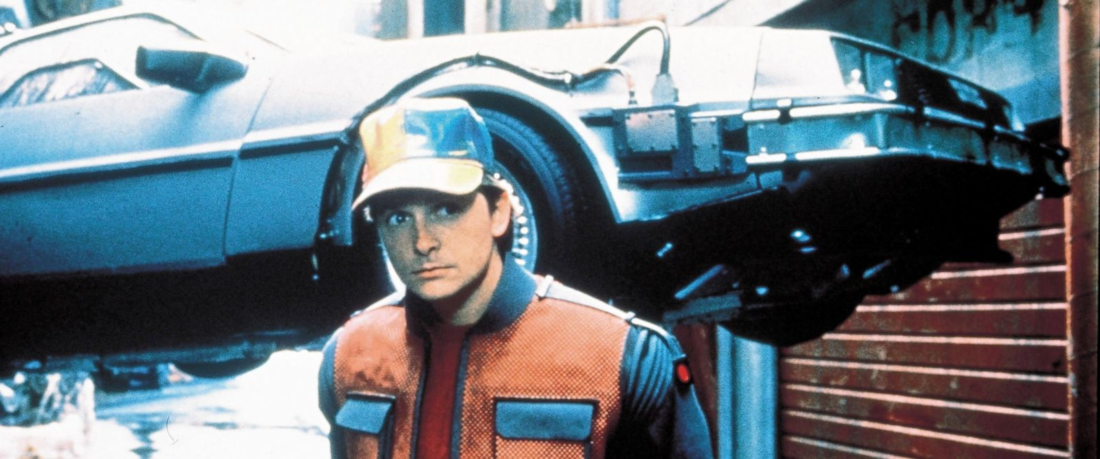 """PHOTO: Michel J Fox in a scene from """"Back to the Future Part II."""""""