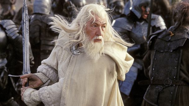PHOTO: Ian McKellen in a scene from Lord of the Rings: Return of the King.