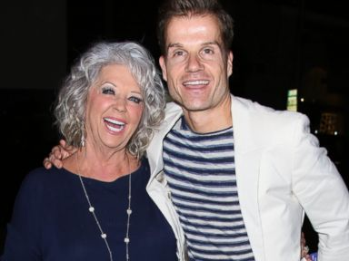 PHOTO: Paula Deen and Louis van Amstel attend an event, Sept. 29, 2015, in Los Angeles.