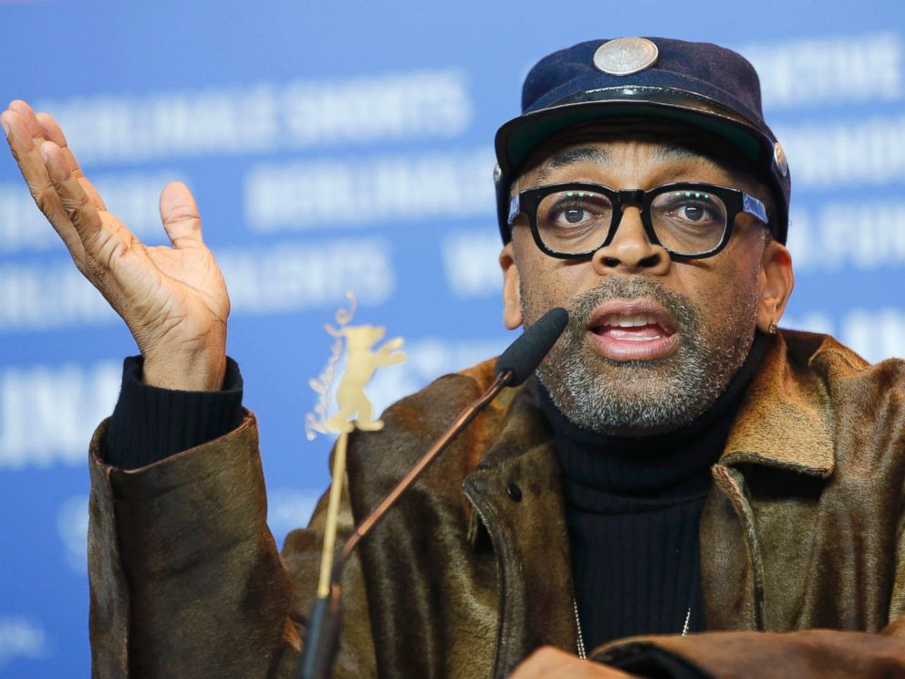 PHOTO: Director Spike Lee attends a news conference to promote the movie Chi-Raq at the 66th Berlinale International Film Festival in Berlin, Feb. 16, 2016.