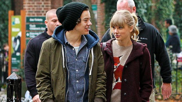 PHOTO: Taylor Swift and Harry Styles are seen leaving the Central Park Zoo in New York.