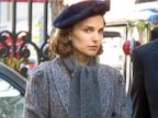 Natalie Portman Gets Into Character in Paris