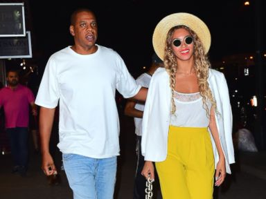 Steps Out With Jay Z Wearing Lemonade Yellow