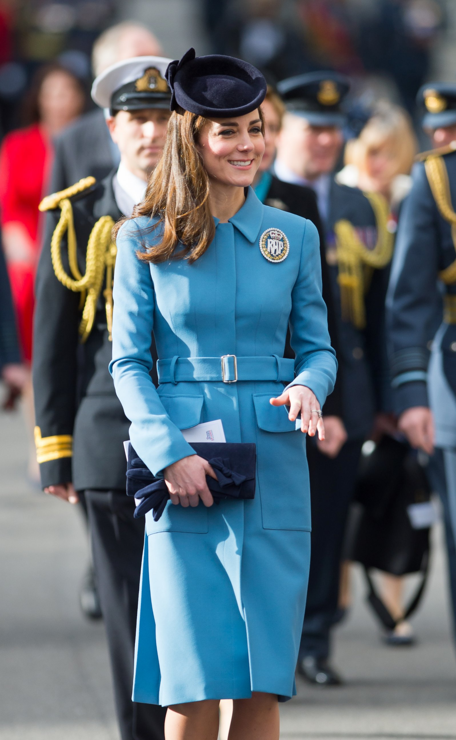 Duchess Kate Stuns in Blue