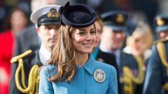 Duchess Kate Stuns in Blue
