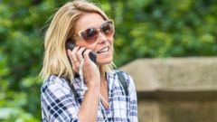 Kelly Ripa Takes a Stroll in Central Park