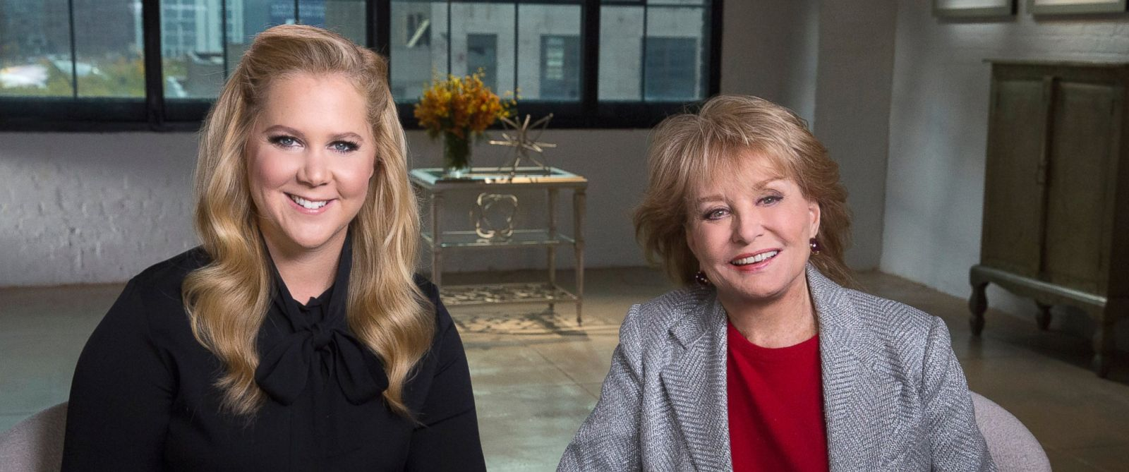 Amy Schumer Opens Up to Barbara Walters About Father