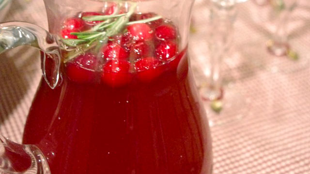 PHOTO: Lauren Torrisi's Christmas cheer cocktail is shown here.