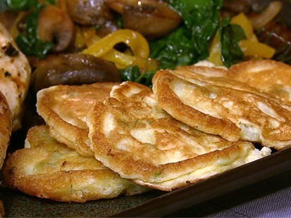 PHOTO: Spring onion fritelle