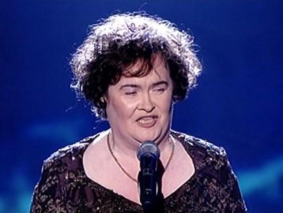 VIDEO: Susan Boyle sings Memory on Britains Got Talent.