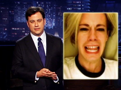 VIDEO: Jimmy Kimmel shows famous clips from the Internet.