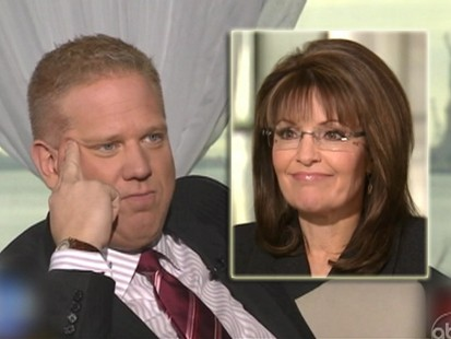 VIDEO: Did Glenn Beck stump Sarah Palin with a simple question?